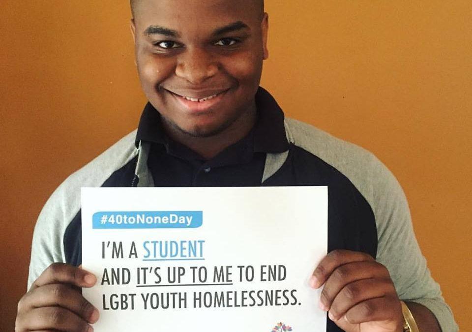 Ending Youth Homelessness #40toNoneDay (4/26)