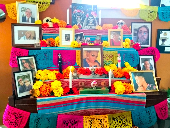 Dia de los Muertos Altar at OUTMemphis