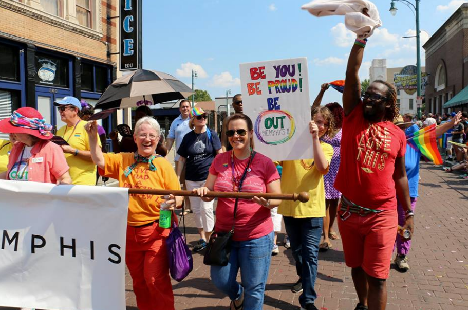 Walk with OUTMemphis at Pride!