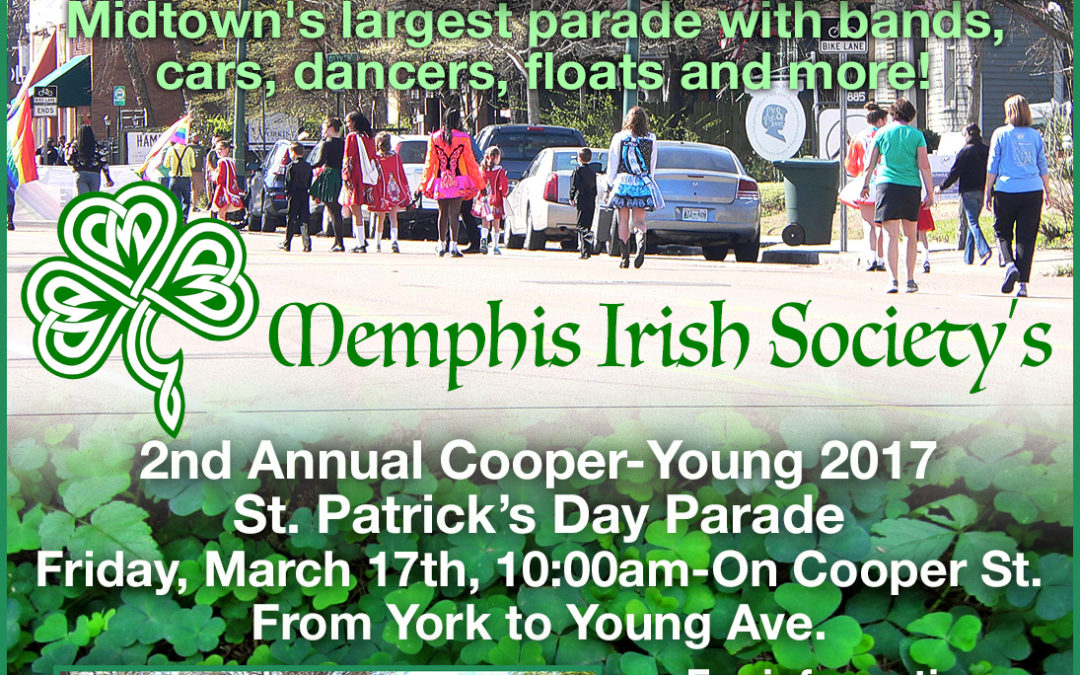 March with OUTMemphis in the St. Patrick's Day Parade