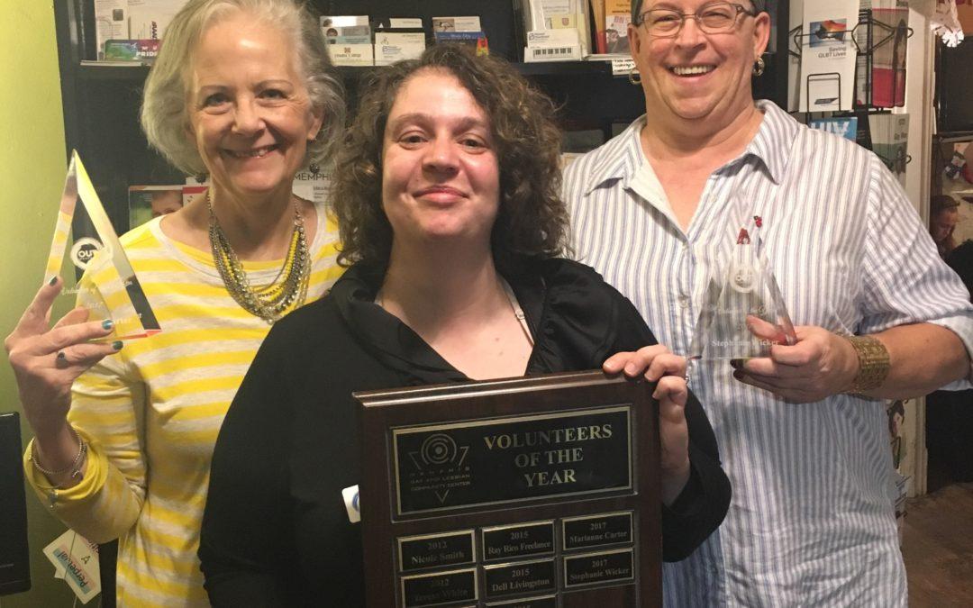 Volunteers of the Year 2017