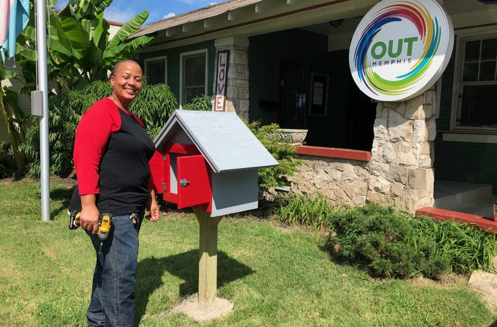 Come Visit Our Little Library at OUTMemphis