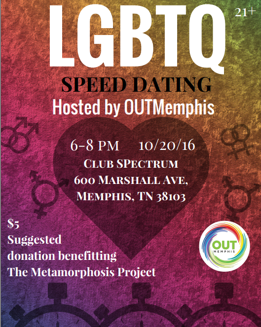 LGBTQ Speed Dating Event to Benefit the Metamorphosis Project